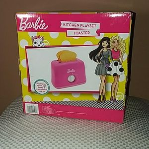 Barbie Other New Barbie Kitchen Playset Toaster Poshmark